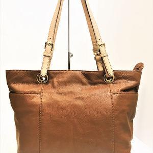 Michael Kors Soft Tan Leather Tote